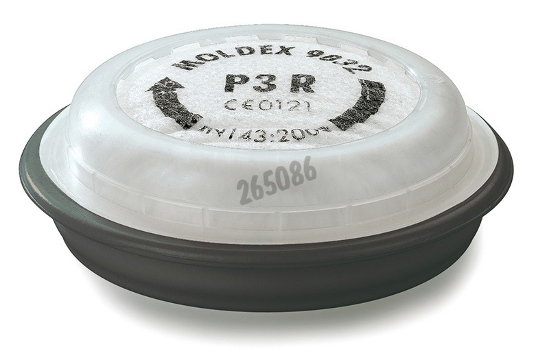 EasyLock® Particulate filter - Protection Level P3 R + ozone - For Moldex Mask series 7000 and 9000