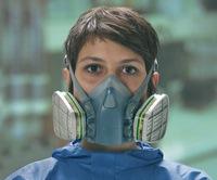 Reusable half-face protection masks 3M