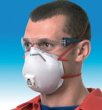 Dust-Proof Mask with Valve - 8300 Series - Comfort Range