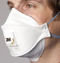 Foldable masks Aura 9300+ 3M