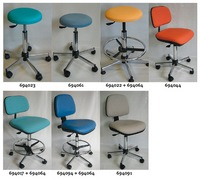 ALSIT Laboratory Seats and Stools - BOEING RANGE - PVC COATED FABRIC