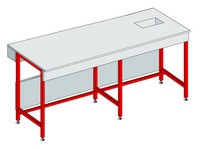 Work furniture - lab benches in kit form