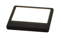 Battery-powered mini LED tablet