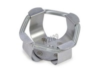 Stainless steel clamp for 50 mL flask
