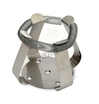 Stainless steel clamp for 1000 mL flask