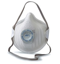 Moldex Classic mask protection against dust, mist and fumes - Protection Level FFP1 NR D - Valve Ventex®