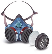 Moldex Half mask series 5000 maintenance free - Protection Level FFA1 P2 R D - Organic vapours (boiling point above 65 °C) + particulate