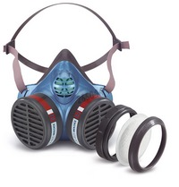 Moldex Half mask series 5000 maintenance free - Protection Level FFA2 P3 R D - Organic vapours (boiling point above 65 °C) + particulate